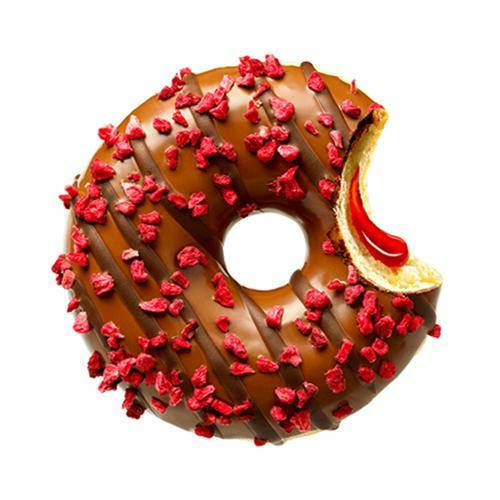 Donut merry berry