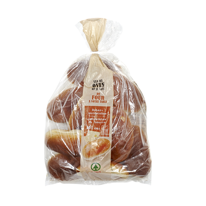 Spar botersandwiches - 10 st.