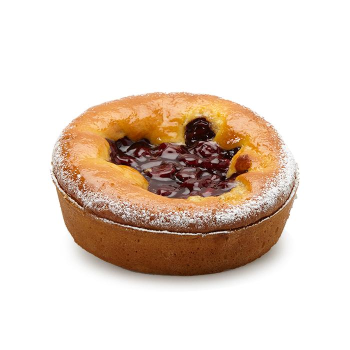 Cakegebak kersen - 6 pers.