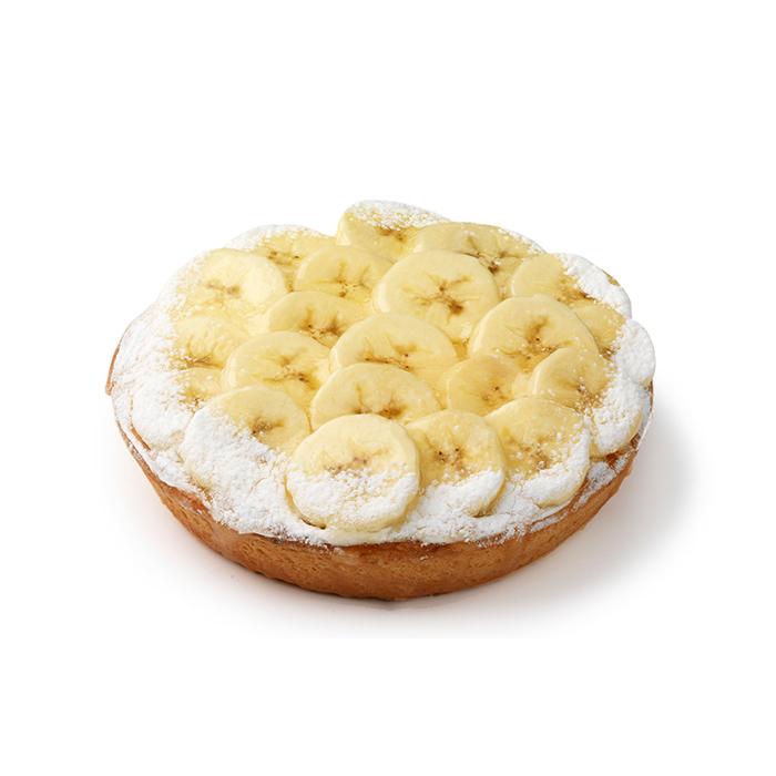 Bananentaartje - 2 pers.