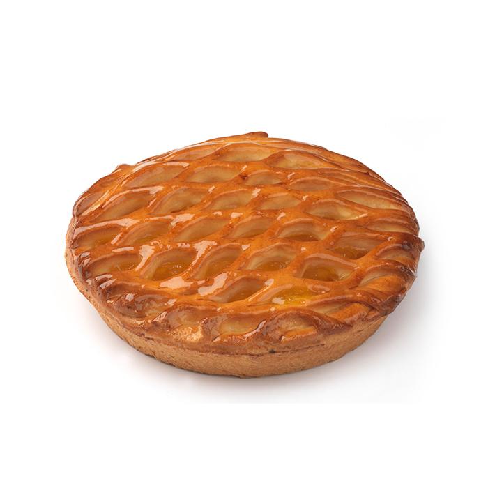 Geruit abrikozentaartje - 2 pers.