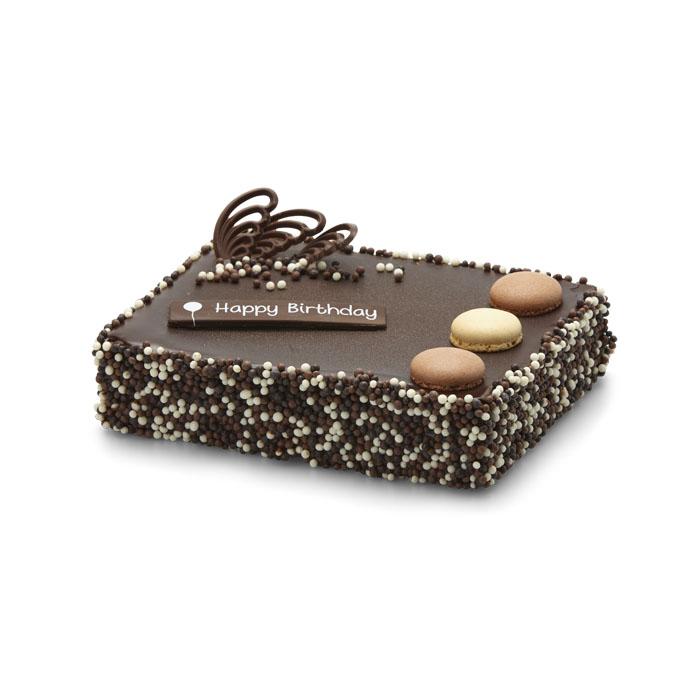 Verjaardagstaart chocolade - 8 pers.